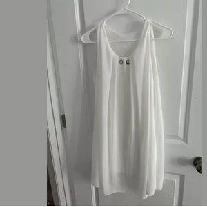 Italian Made White Dress Size Small